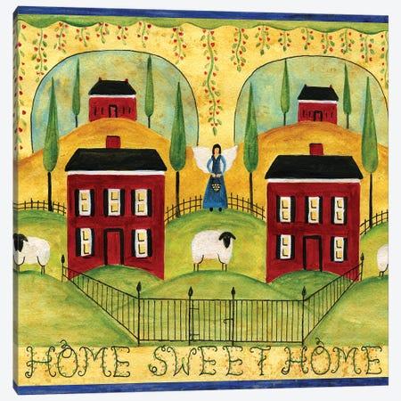 Home Sweet Home Canvas Print #CBT123} by Cheryl Bartley Canvas Art