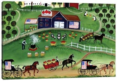 American Apple Farm Canvas Art Print