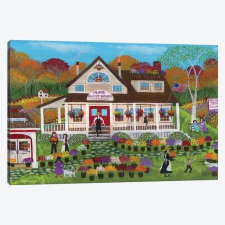 Mum's Guest House Canvas Print #CBT141} by Cheryl Bartley Canvas Wall Art
