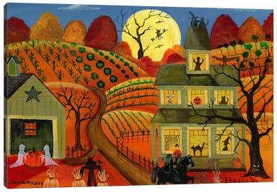 One Halloween Night Canvas Art Print