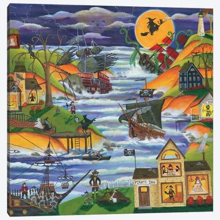 Pirate Cove Inn Canvas Print #CBT161} by Cheryl Bartley Canvas Art
