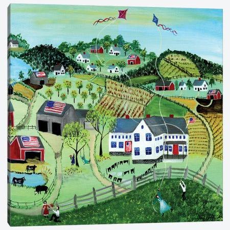 American Farmland Canvas Print #CBT16} by Cheryl Bartley Canvas Art