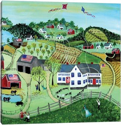 American Farmland Canvas Art Print