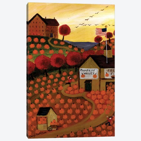 Pumpkin Valley Cheryl Bartley Canvas Print #CBT185} by Cheryl Bartley Canvas Art Print