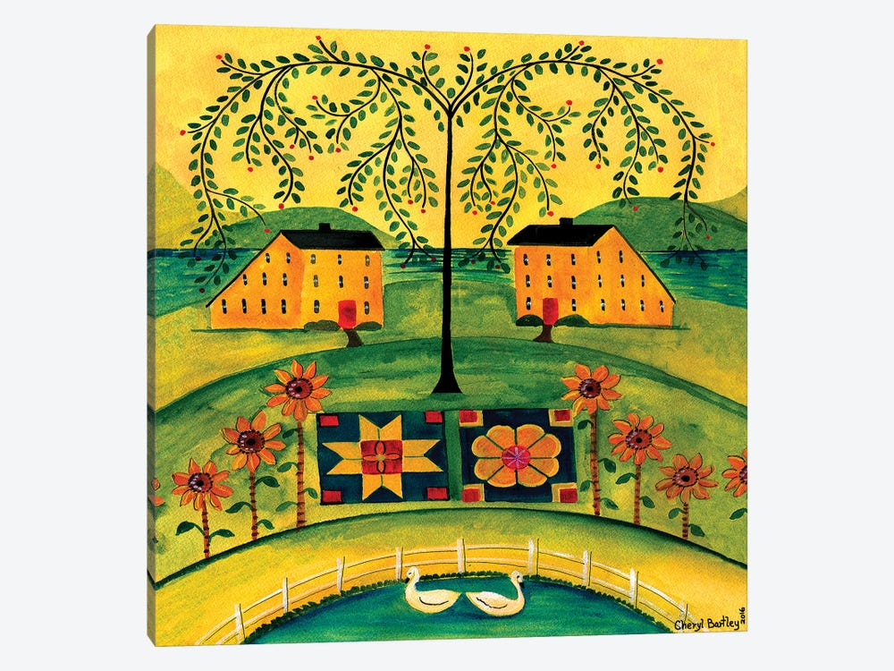 Sow Seeds of Love by Cheryl Bartley 1-piece Canvas Print