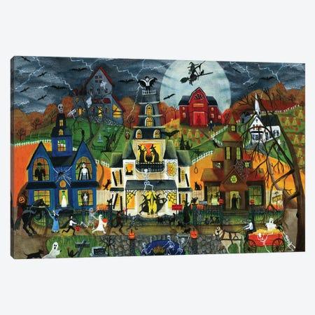 Spooky Street Cheryl Bartley Canvas Print #CBT213} by Cheryl Bartley Canvas Art