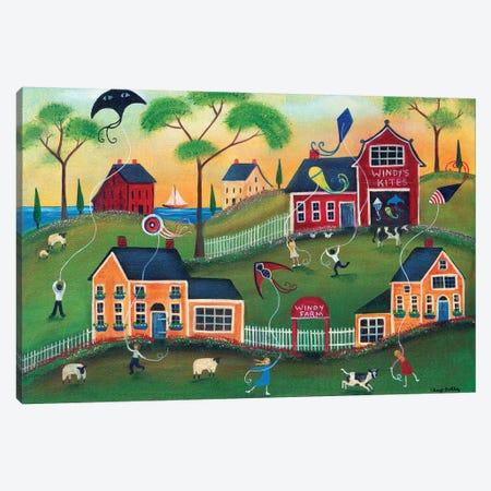 Windys Kite Farm Canvas Print #CBT251} by Cheryl Bartley Canvas Wall Art