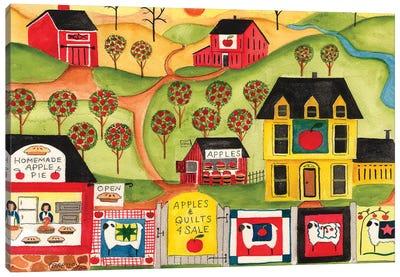 Apples Quilts 4 Sale Canvas Art Print