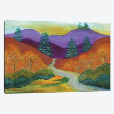 Autumn Splendor Canvas Print #CBT41} by Cheryl Bartley Canvas Wall Art
