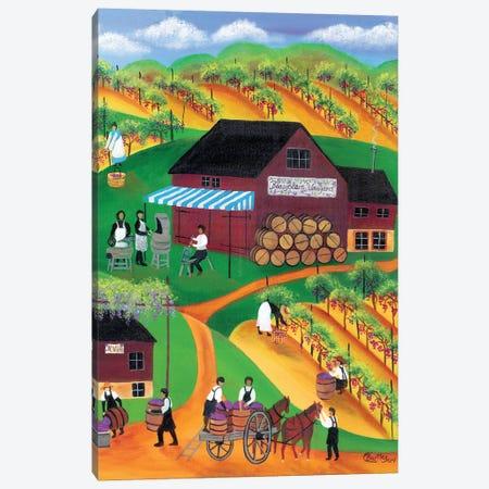Beaujolais Vineyard Canvas Print #CBT45} by Cheryl Bartley Art Print