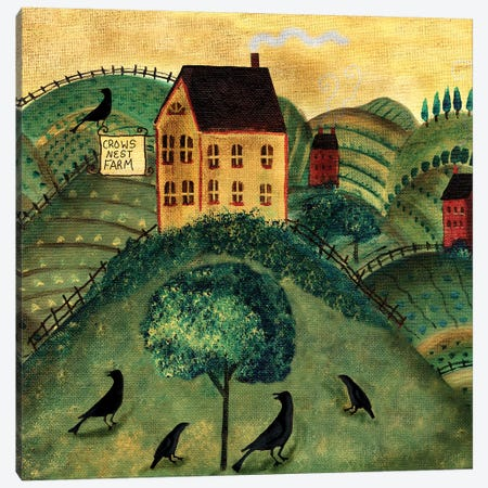 Crows Nest Farm Canvas Print #CBT85} by Cheryl Bartley Art Print