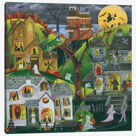 Dark, eerie, and full of treats Canvas Print #CBT86} by Cheryl Bartley Art Print