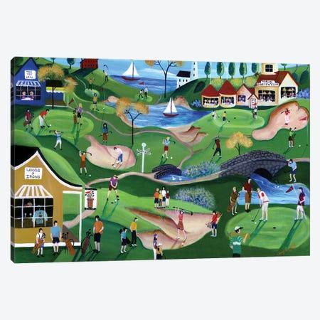Fairway Golf Resort Canvas Print #CBT90} by Cheryl Bartley Canvas Print