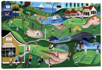 Fairway Golf Resort Canvas Art Print