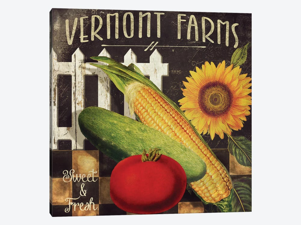 Vermont Farms VII by Color Bakery 1-piece Art Print