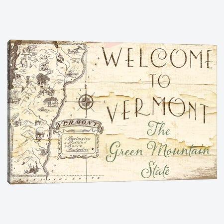Vermont Summer IX Canvas Print #CBY1015} by Color Bakery Canvas Print