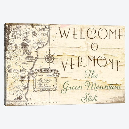 Vermont Summer IX Canvas Print #CBY1015} by Color Bakery Canvas Print