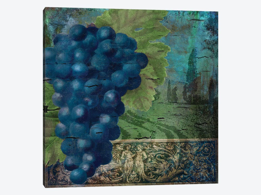 Vino Blu II 1-piece Canvas Artwork