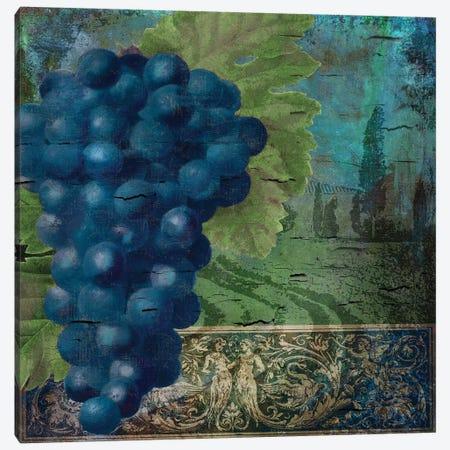 Vino Blu II Canvas Print #CBY1029} by Color Bakery Canvas Print