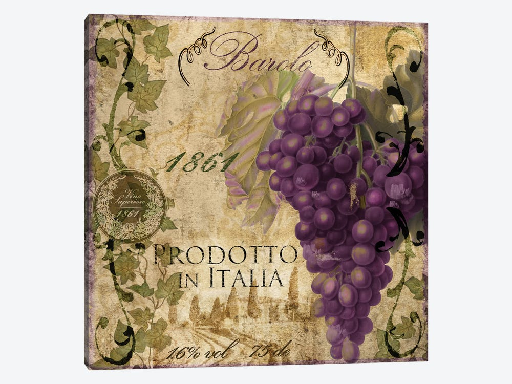 Vino Italiano II by Color Bakery 1-piece Canvas Print