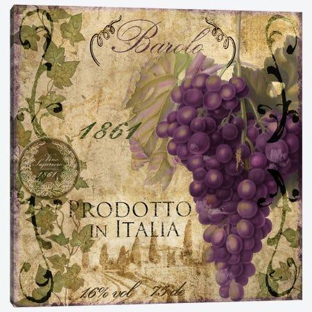 Vino Italiano II Canvas Print #CBY1031} by Color Bakery Canvas Art