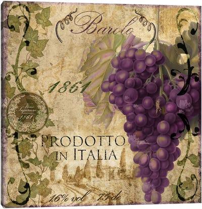 Vino Italiano II Canvas Art Print