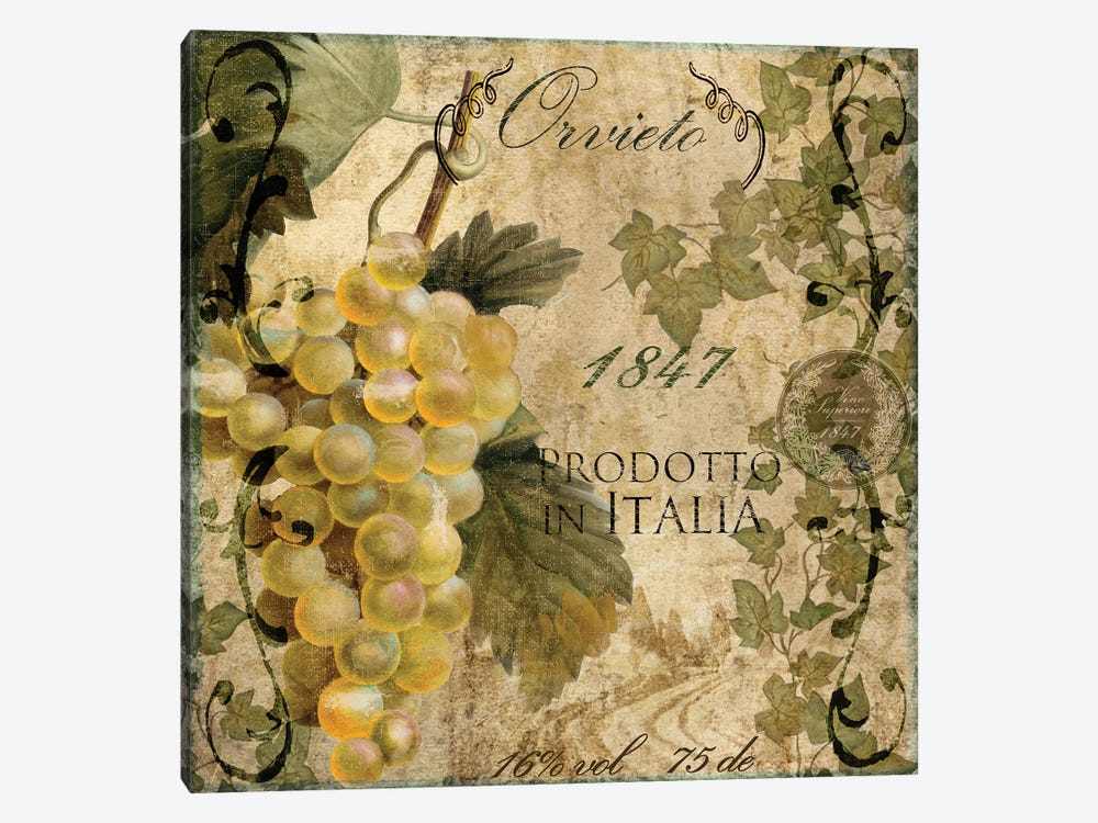 Vino Italiano IV by Color Bakery 1-piece Canvas Art Print