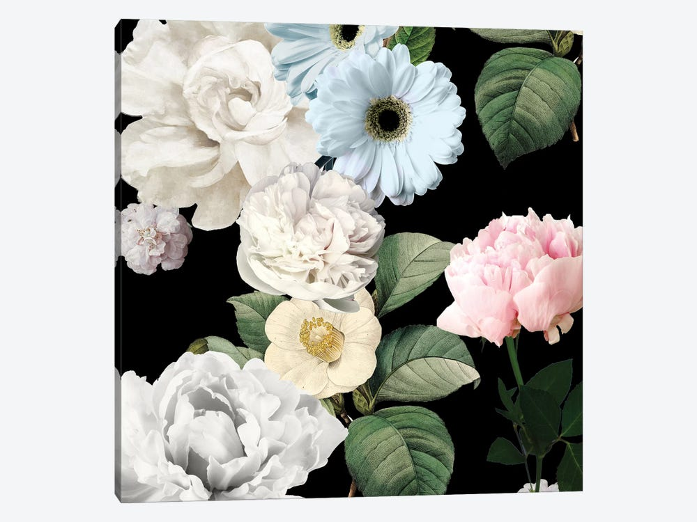 Wallflowers by Color Bakery 1-piece Canvas Artwork