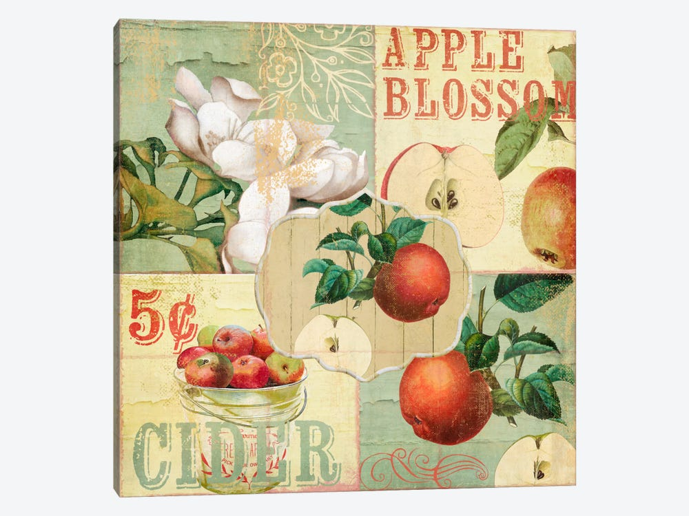 Apple Blossoms I by Color Bakery 1-piece Canvas Print