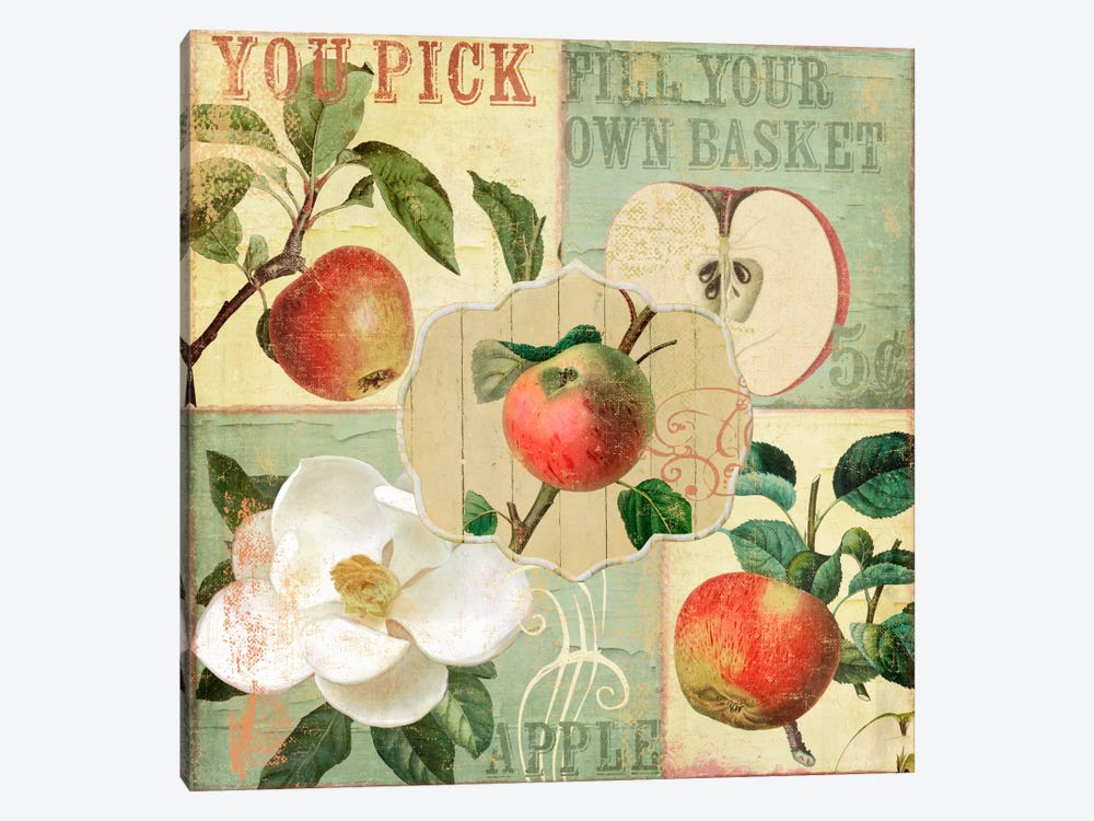 Apple Blossoms II by Color Bakery 1-piece Canvas Art
