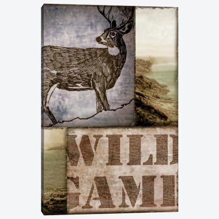 Wild Game Canvas Print #CBY1064} by Color Bakery Canvas Wall Art