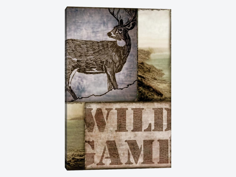 Wild Game by Color Bakery 1-piece Art Print