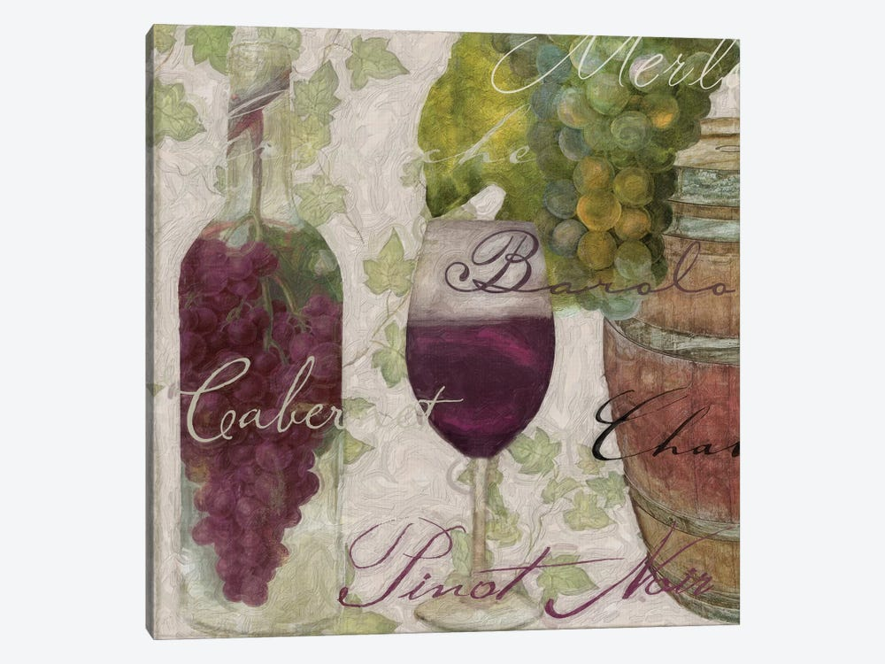 Wine Cellar I by Color Bakery 1-piece Canvas Art