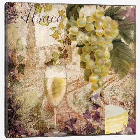Wine Country I Canvas Print #CBY1069} by Color Bakery Canvas Print