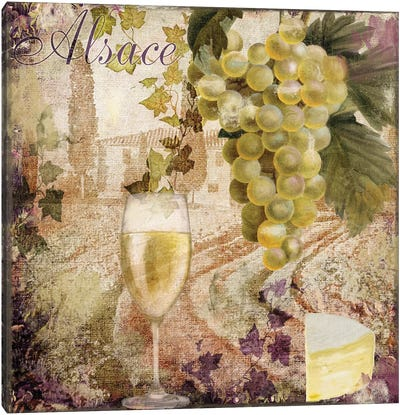 Wine Country I Canvas Art Print