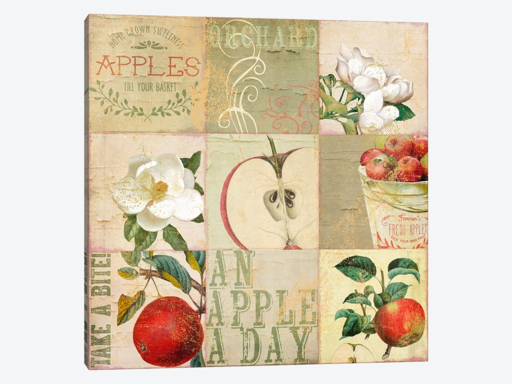 Apple Blossoms III by Color Bakery 1-piece Art Print