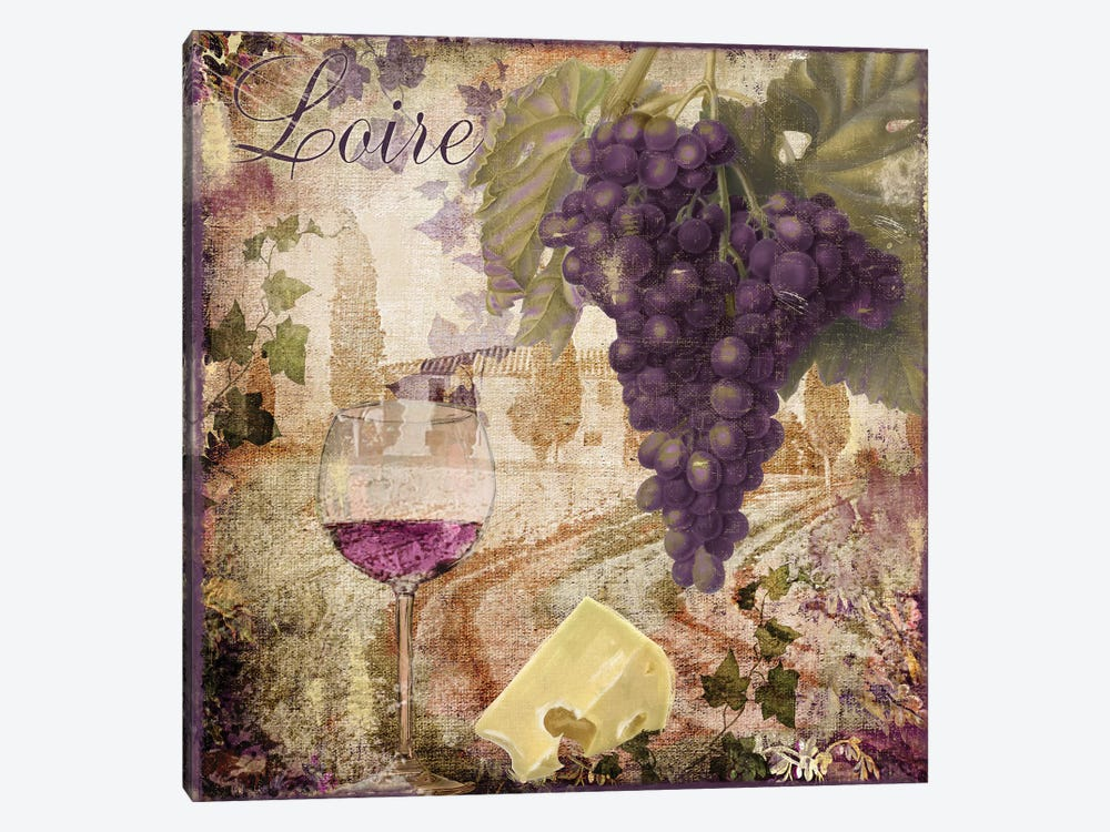 Wine Country II by Color Bakery 1-piece Canvas Art