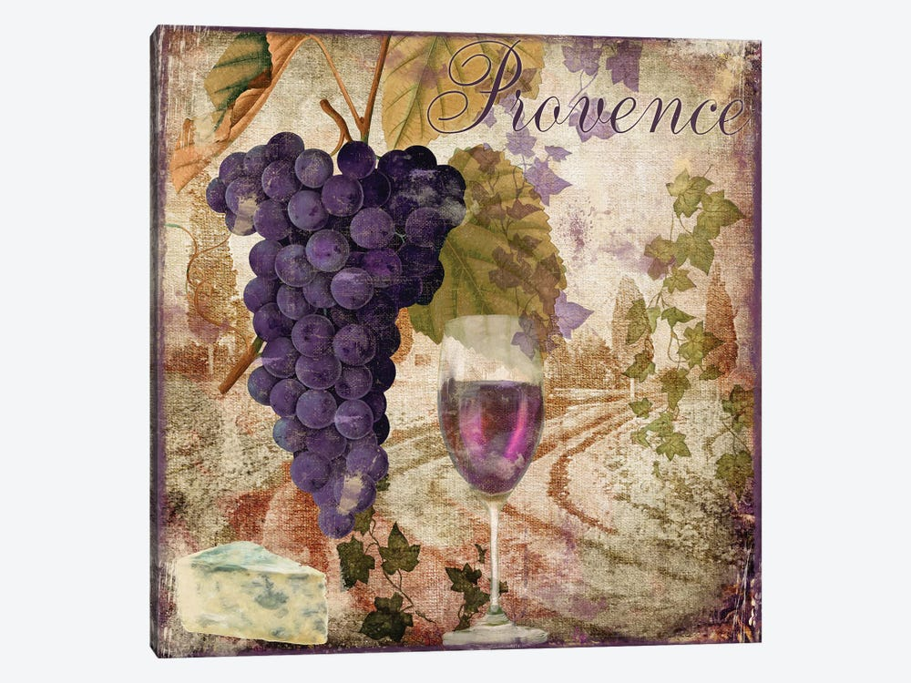 Wine Country III by Color Bakery 1-piece Canvas Art Print