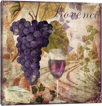 Wine Country III Canvas Art Print