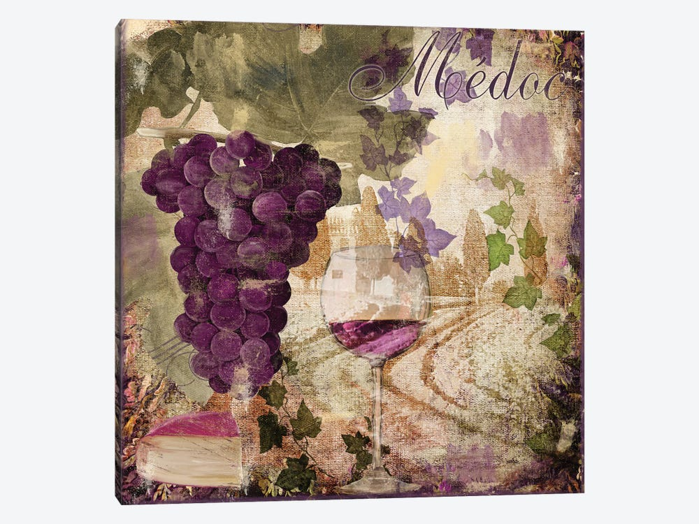 Wine Country IV by Color Bakery 1-piece Canvas Artwork