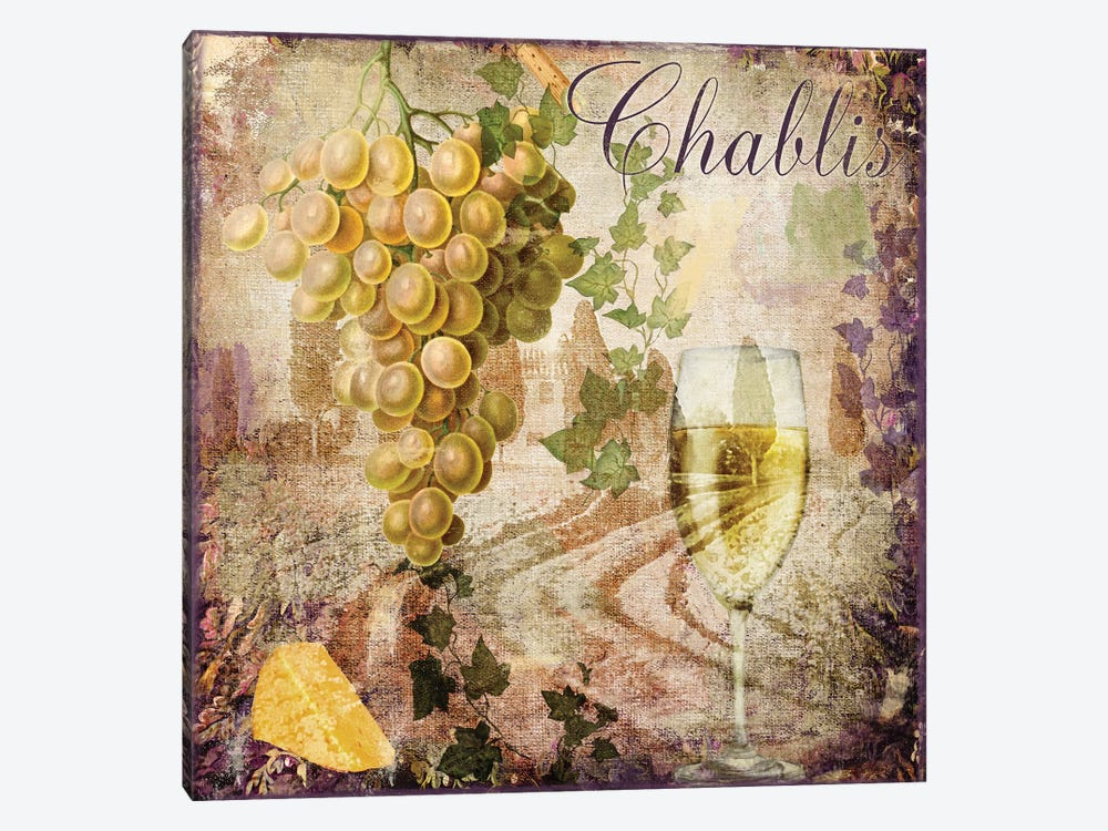 Wine Country V 1-piece Canvas Art Print