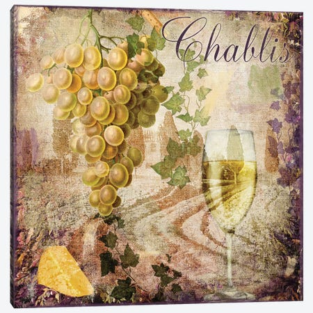Wine Country V Canvas Print #CBY1073} by Color Bakery Canvas Artwork
