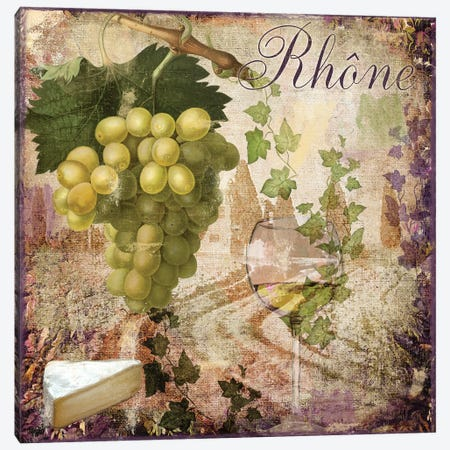 Wine Country VI Canvas Print #CBY1074} by Color Bakery Canvas Print