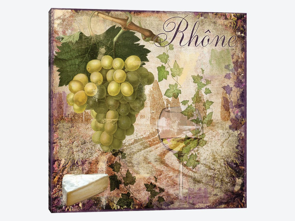 Wine Country VI by Color Bakery 1-piece Canvas Wall Art