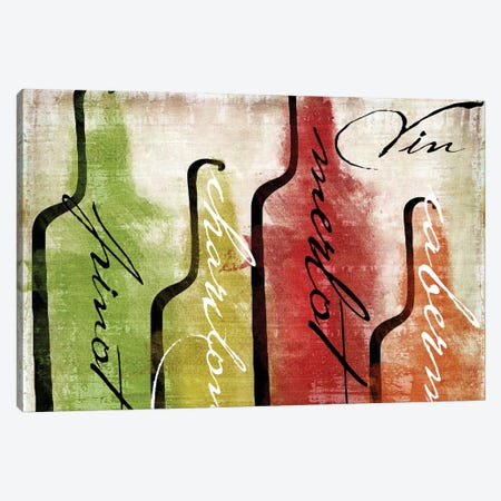 Wine Tasting I Canvas Print #CBY1075} by Color Bakery Canvas Print