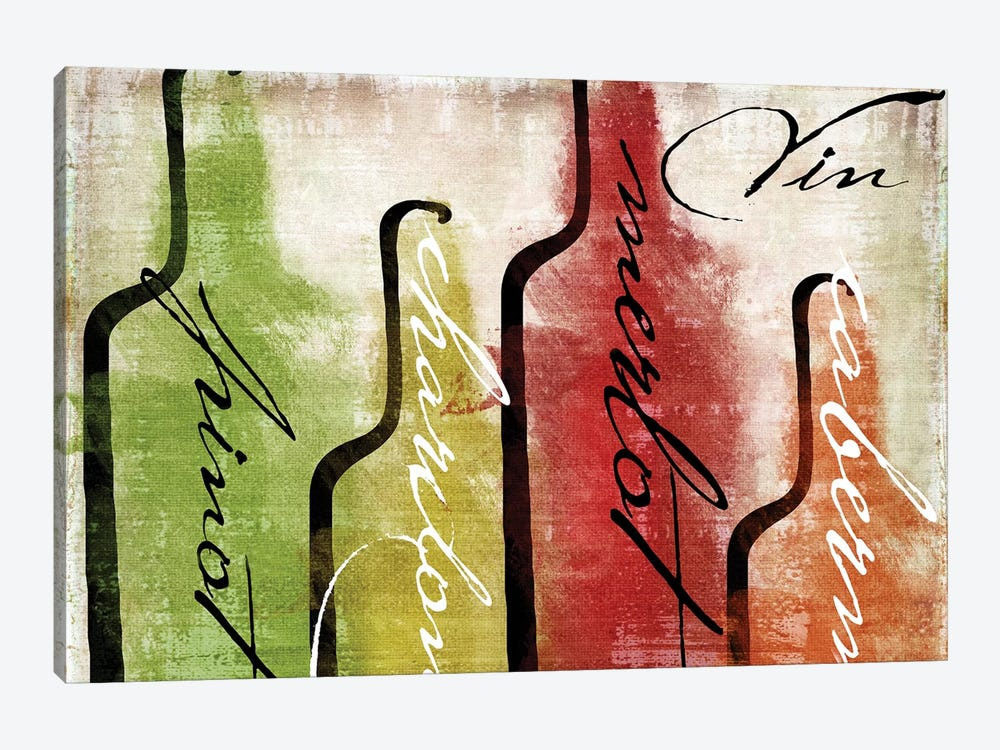 Wine Tasting I by Color Bakery 1-piece Art Print