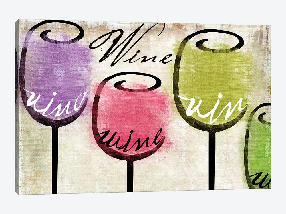 Wine Tasting III by Color Bakery 1-piece Canvas Art Print