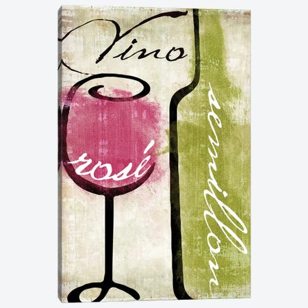 Wine Tasting IV Canvas Print #CBY1078} by Color Bakery Canvas Art
