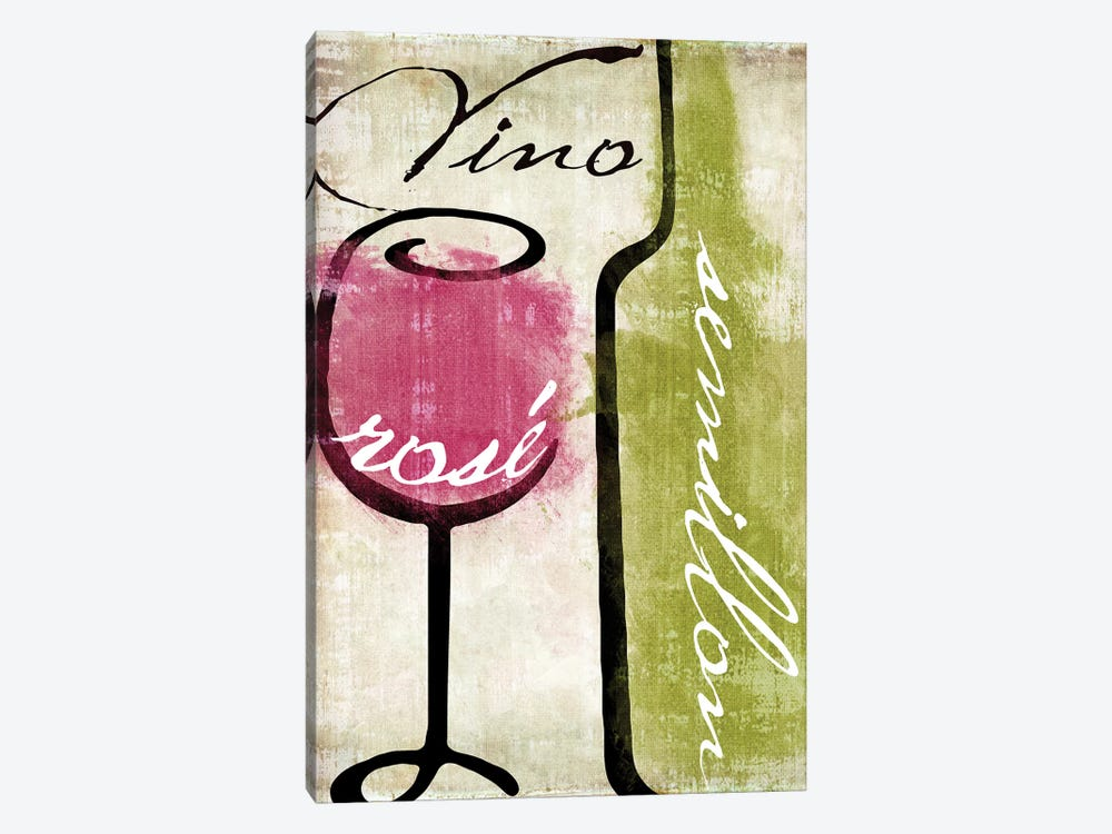 Wine Tasting IV by Color Bakery 1-piece Canvas Art