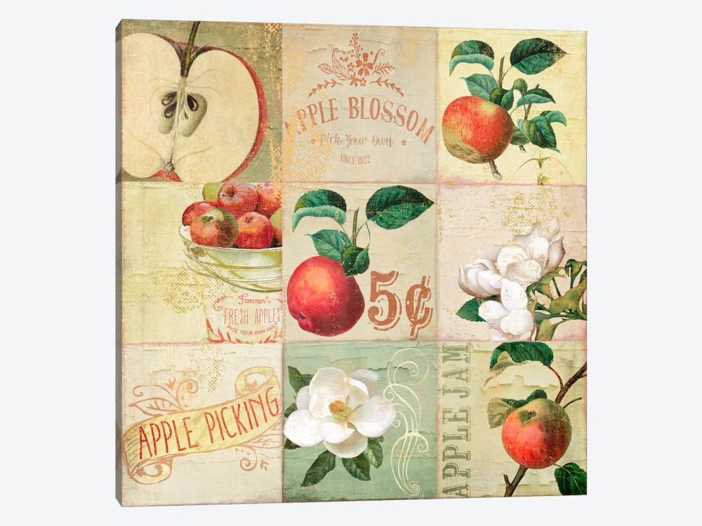 Apple Blossoms IV 1-piece Canvas Artwork